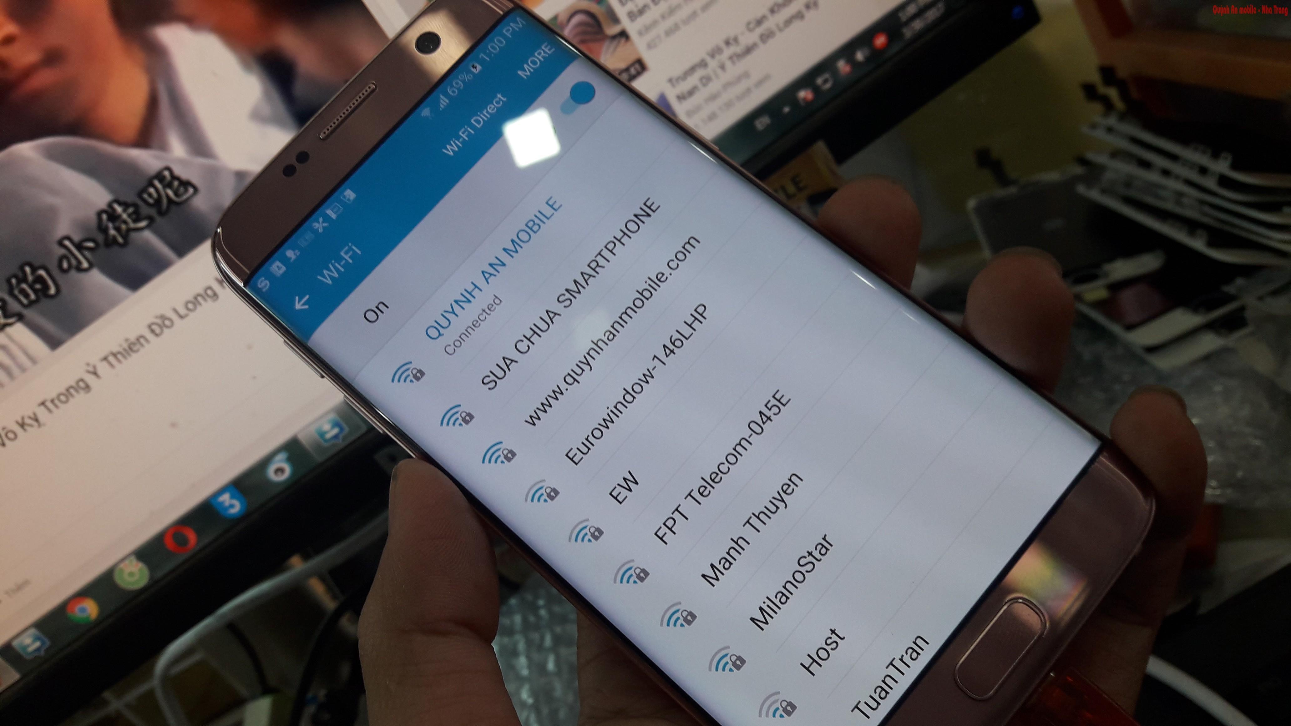 Unlock s7 Edge Samsung galaxy S7 xách tay nhật tại nha Trang
