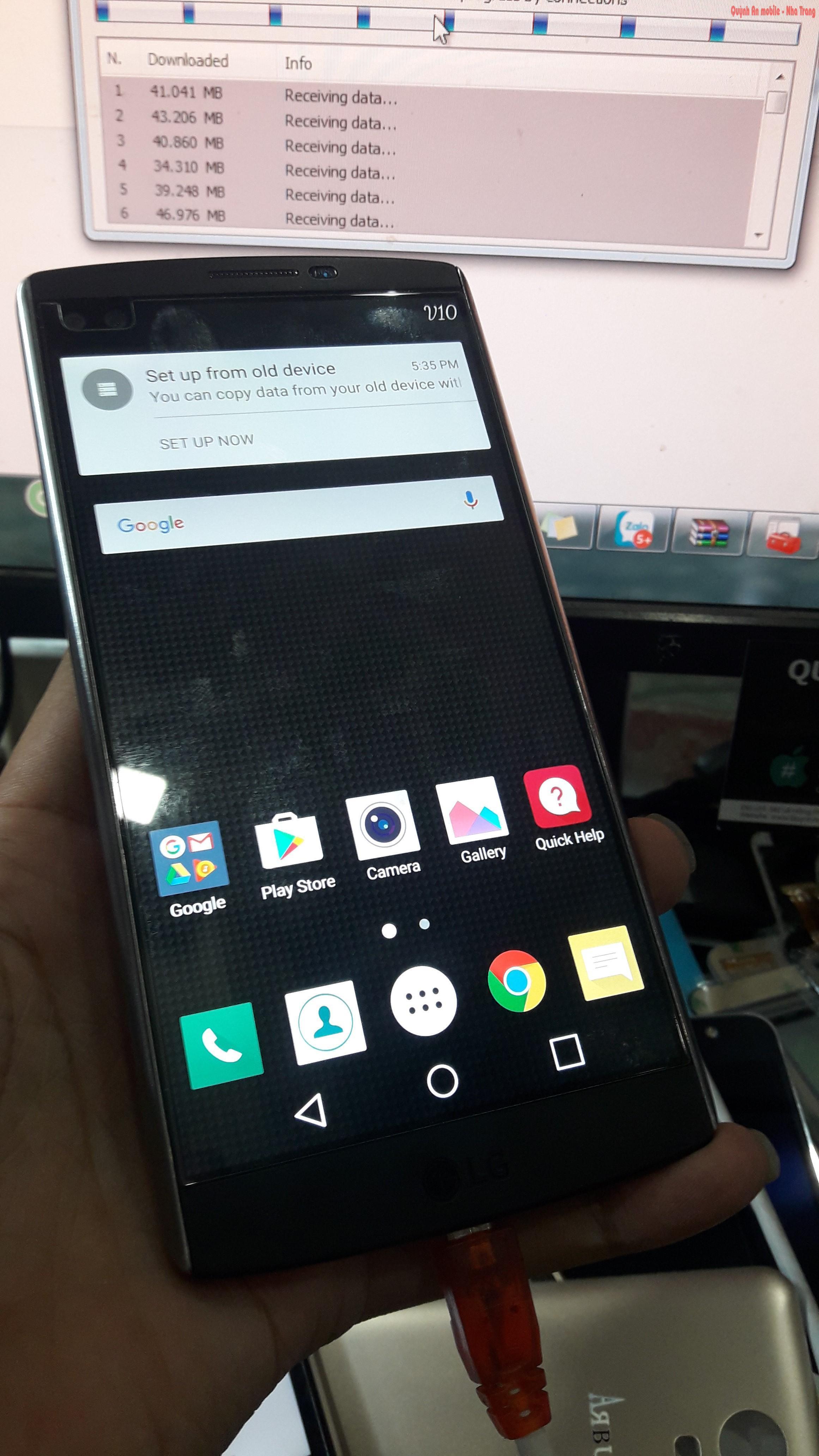 Xóa tài khoản Google cho LG V10 tại Nha Trang bằng thiết bị chuyên dụng, chờ lấy ngay.