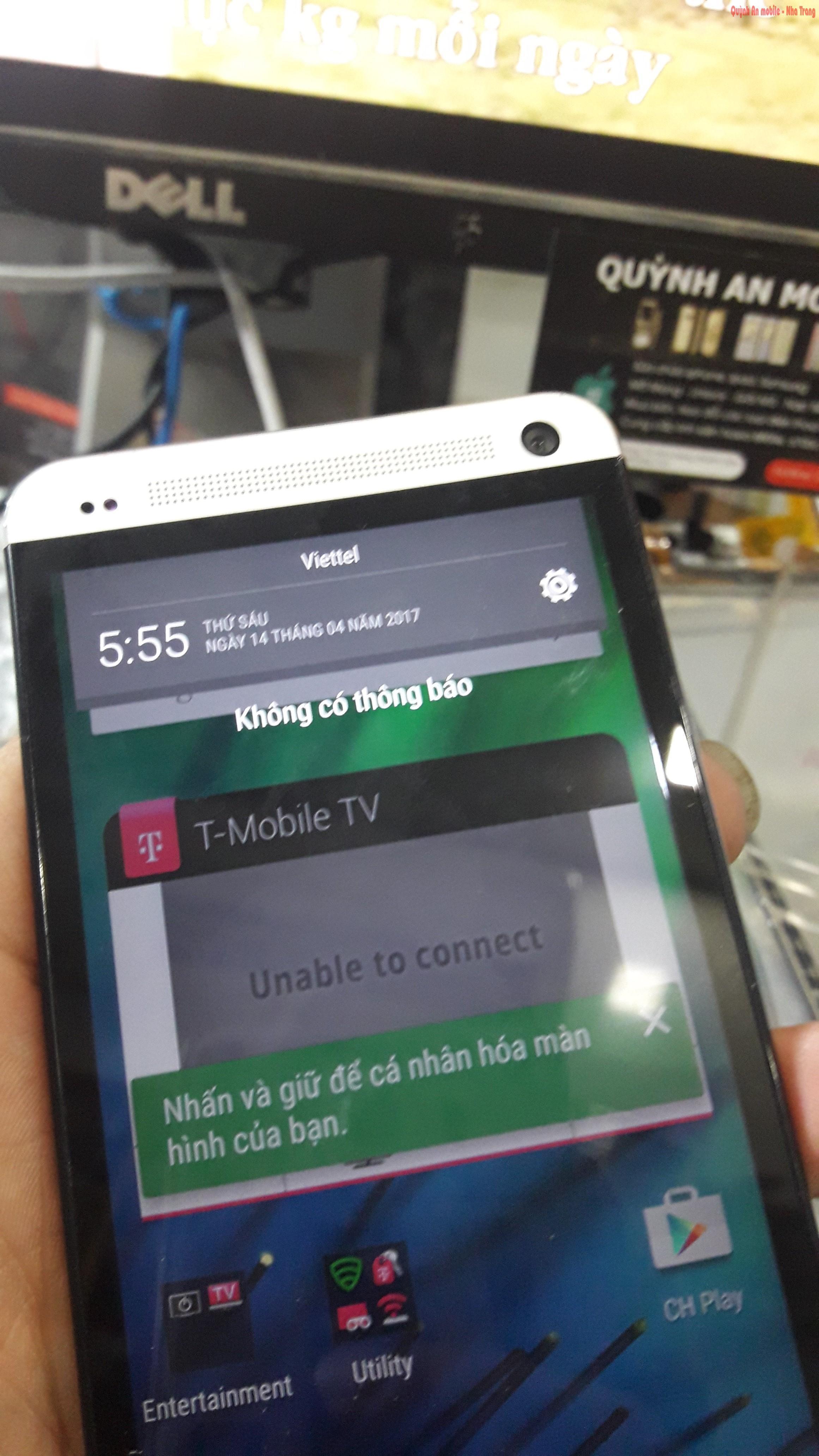 Mở khóa máy HTC M7 xách tay nước ngoài tại Nha Trang liên hệ 0907.62.3999