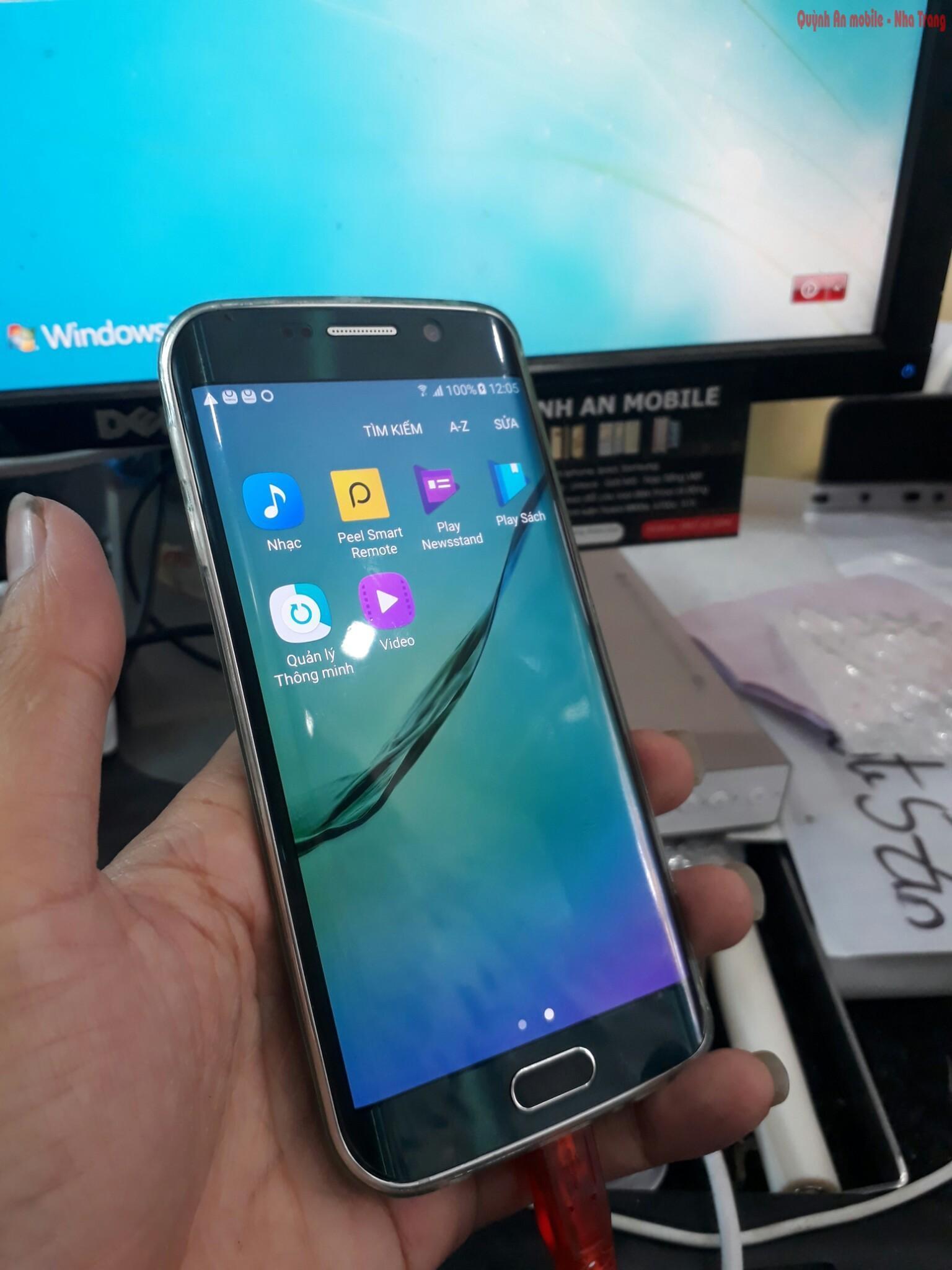 Máy Samsung galaxy S6 edge SC-04G xách tay về đã được nạp tiếng Việt sử dụng như máy quốc tế và được Việt hóa hoàn toàn