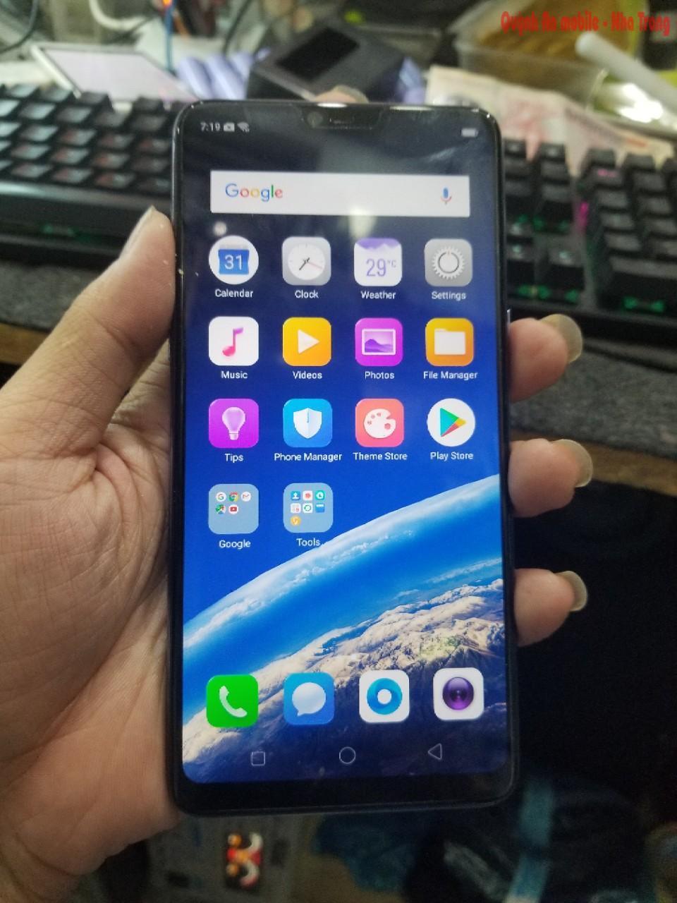 Xóa mật khẩu Oppo F7 tại Nha Trang liên hệ 0907623999