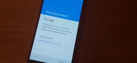 Thoát tài khoản google android 5.1.1