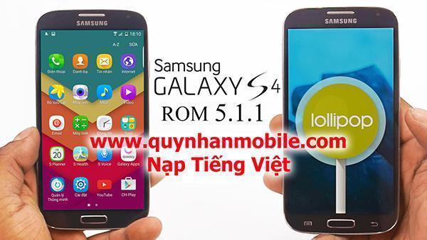Nạp Tiếng Việt Galaxy s4 i337