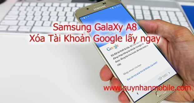 Samsung Galaxy A8 and google account