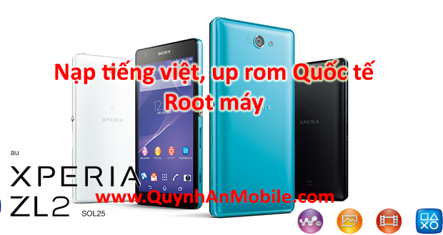 Nạp tiếng Việt, root sony SOL25 D6563 android 5.0.2