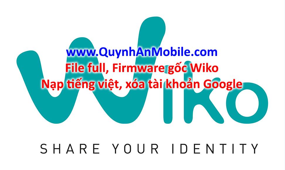 Chạy phần mềm máy Wiko tại nha Trang