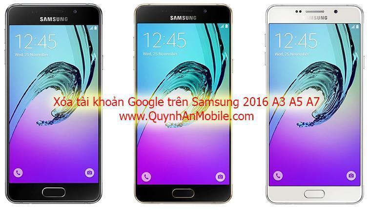 Remove FRP Samsung 2016 nha trang
