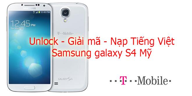 Samsung galaxy S4 Tmobile SGH M919