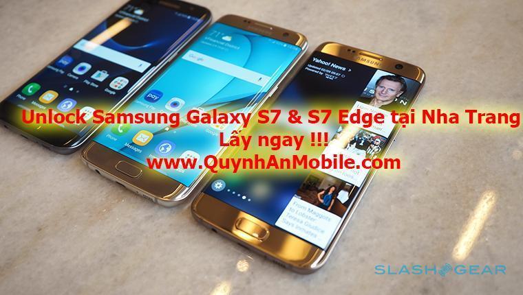 Unlock Galaxy S7 & S7 Edge at Nha Trang
