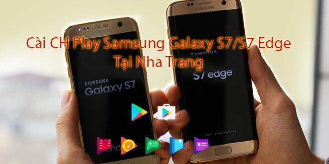 Samsung Galaxy S7 with google play