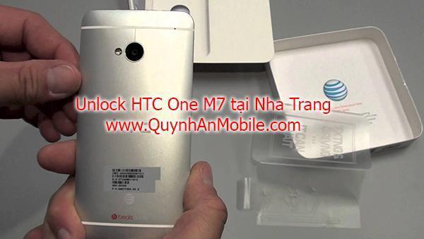 Unlock HTC M7 lấy ngay tại Nha Trang 2