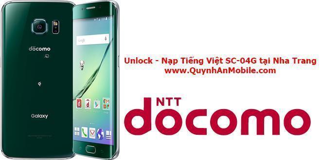 Cài tiếng Việt Samsung galaxy s6 docomo SC 04G tại Nha Trang 4
