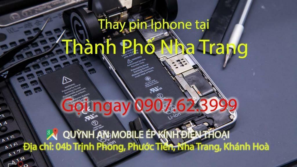 #1 Báo giá thay pin iphone ipad Nha Trang 1