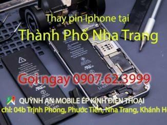 Báo giá thay pin iphone ipad tại Nha Trang 11