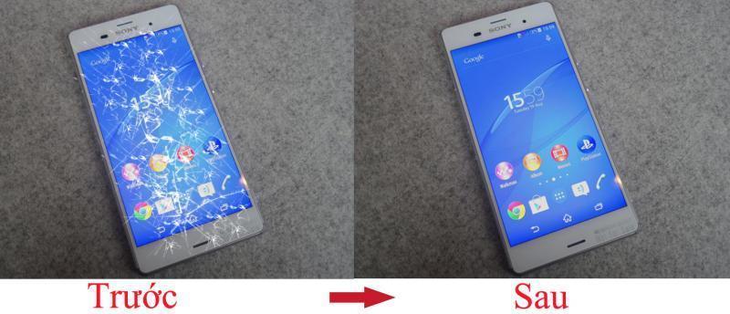 Kết quả hình ảnh cho Kính cảm ứng Sony XZ