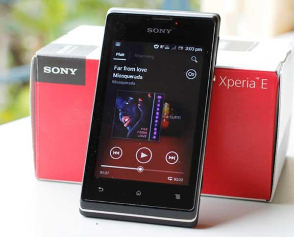 Điện thoại Sony E