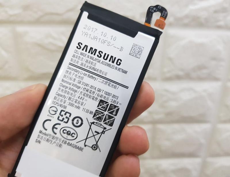 Thay pin samsung A5 2017 chất lượng
