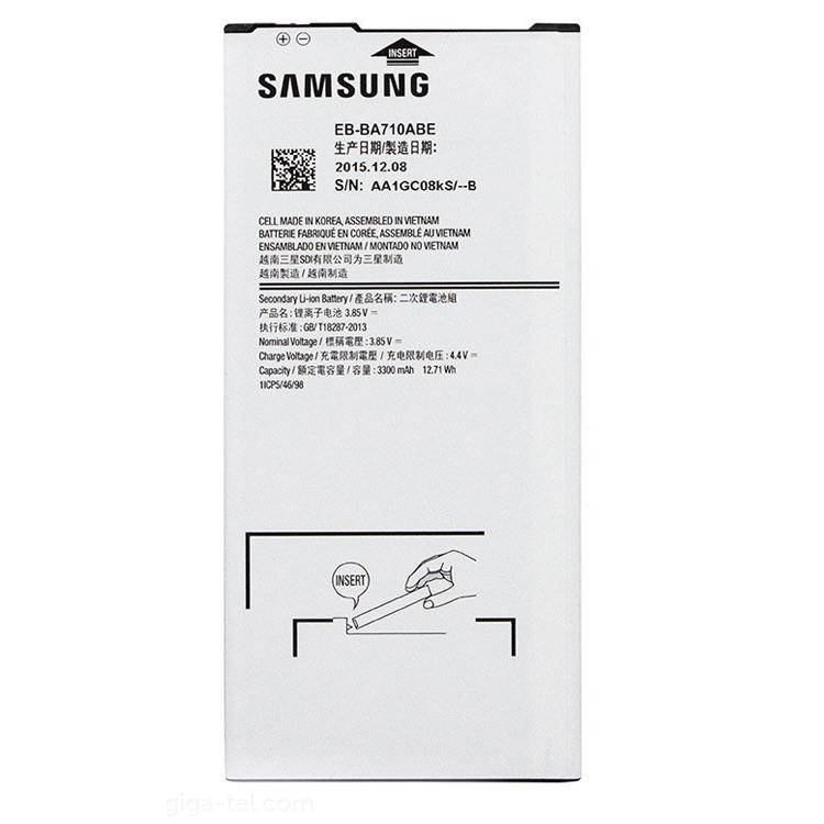 Thay pin samsung Galaxy A7 chính hãng
