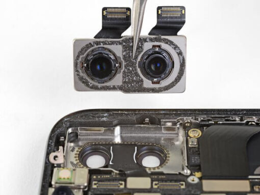 Sửa iphone xs max bị mất camera sau tại Nha Trang 1