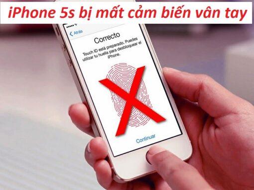 Sửa iphone 5s bị mất vân tay tại Nha Trang 1